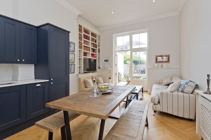 Stylish 1 Bed Apartment, 3 Mins from Tube