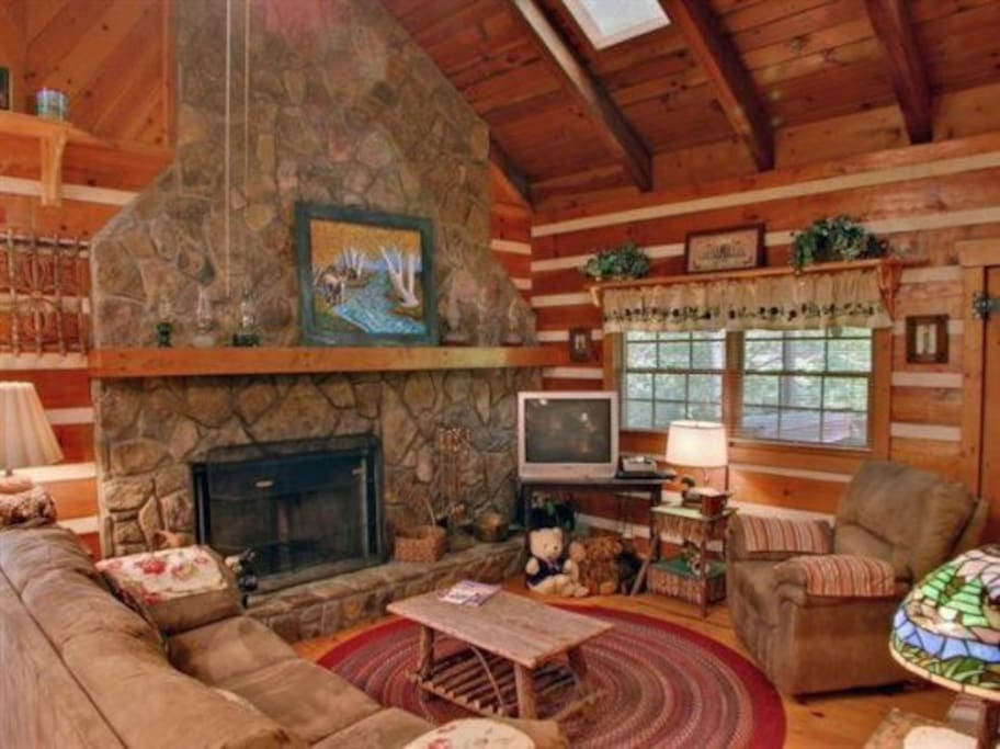 A Sweet Retreat Cabins For Rent In Blue Ridge Georgia United States