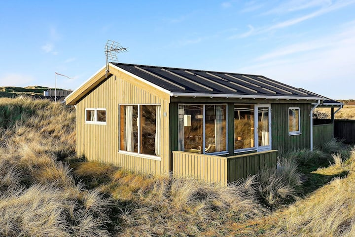 VIntage Holiday Home in  Løkken with Terrace