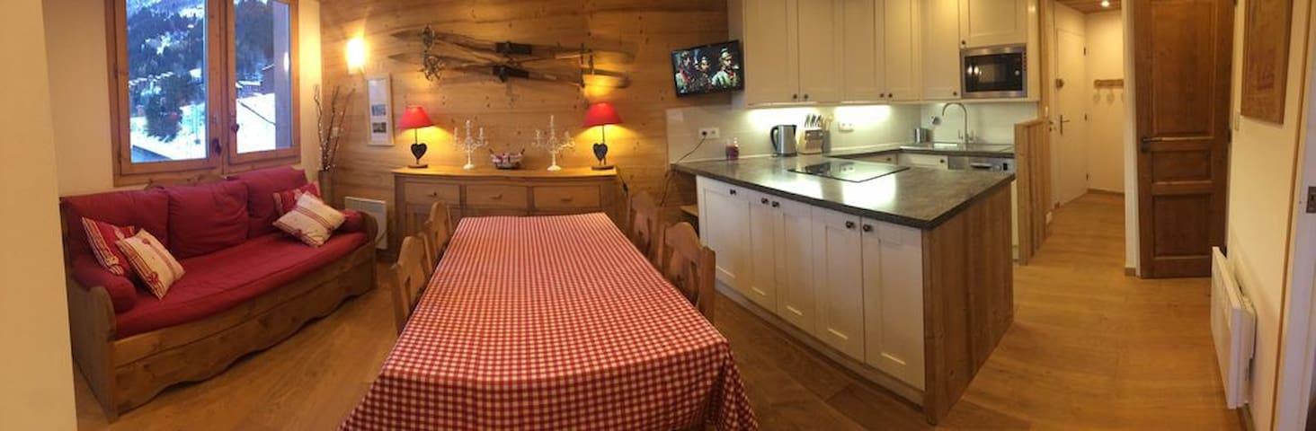 Luxury Cosy Ski Apartment - Planchamp, Valmorel