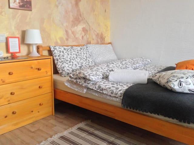 Гостеприимная студия Оранжевая:) - Sankt-Peterburg - Appartamento