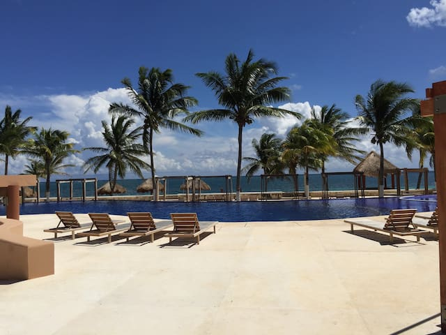 Beautiful ocean front luxury apartment!
