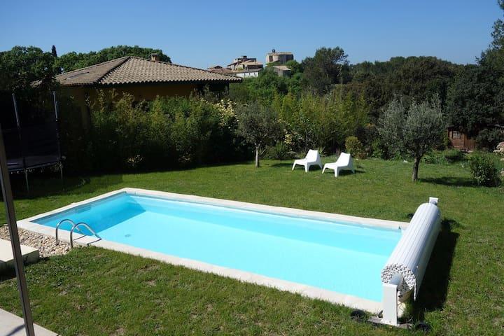 Villa d'architecte bioclimatique près Montpellier