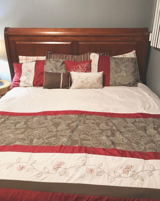 Mega King size Bed