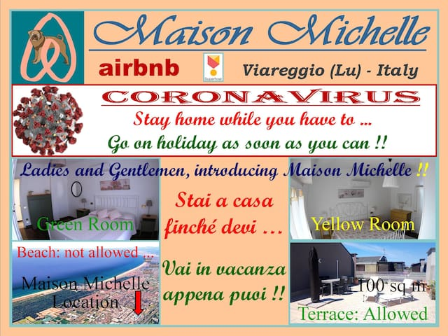 Maison Michel: Penthouse between Lake a Sea