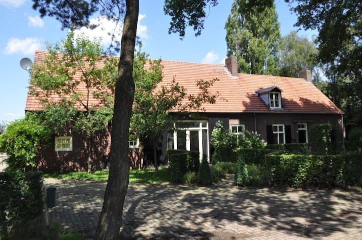 Comfortabel huisje bij landgoed/bos - Oost-, West- en Middelbeers - Casa