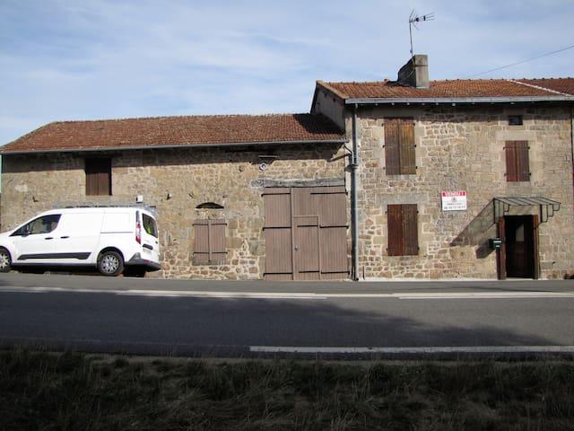Maison ancienne, 3 chambres idéal gîte ou vacances - Saint-Sylvestre - Huis