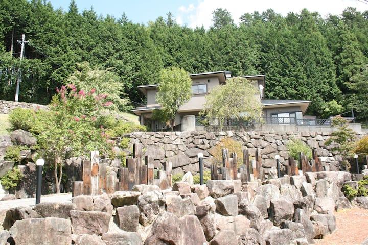 Hida-Hagiwara Holiday House 1   =飛騨萩原=