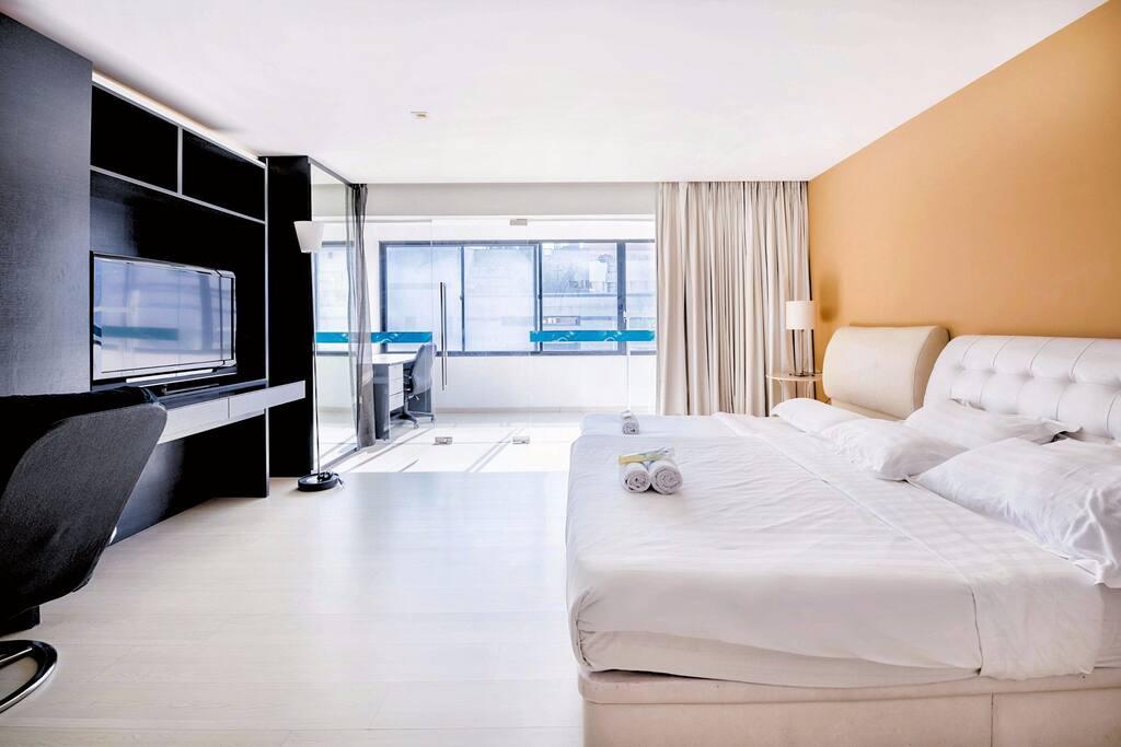 Cosy & comfy bedroom