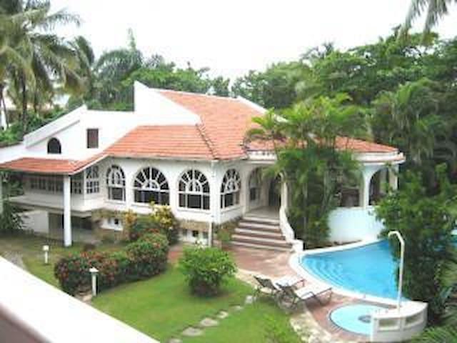 Villa Harty Cabarete Beach Front - Laguna de Cabarete