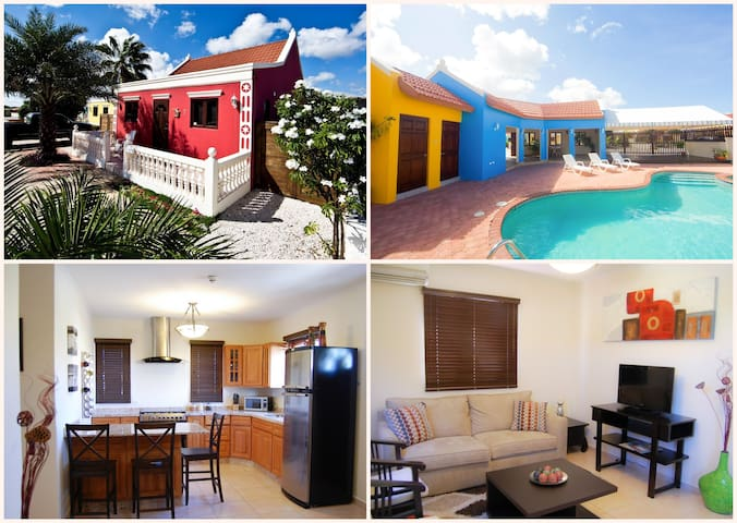 Red Cunucu Villa with pool 2bed/2bath
