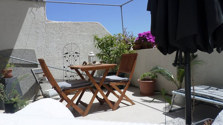 Private Room With A Sunny Terrace