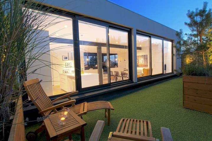Penthouse. Un jardin sur le toit