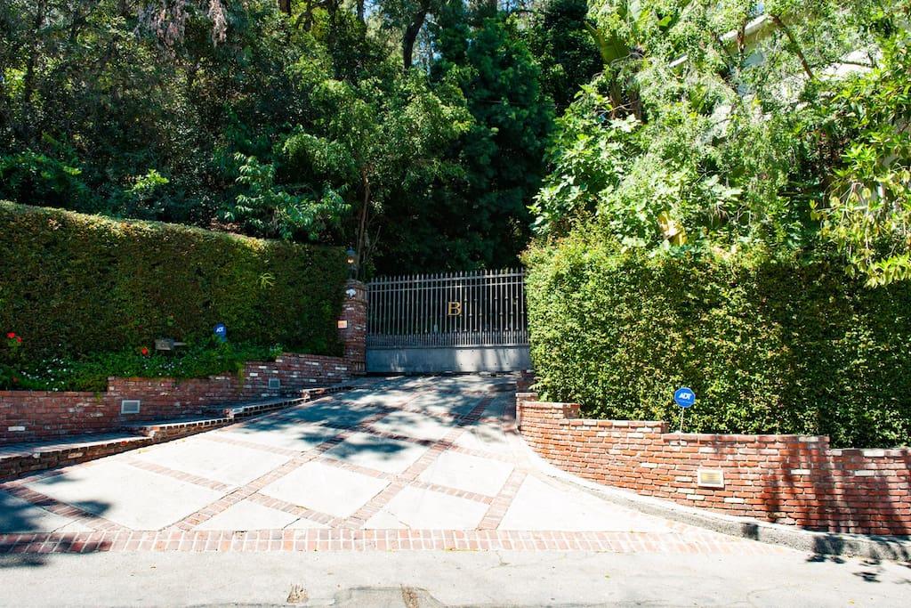 Front Driveway Gate