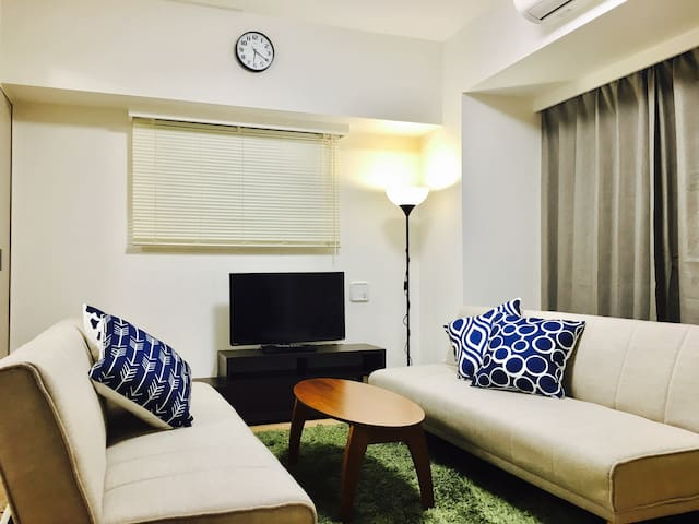 Bright and Comfy Apt in Central Tokyo!!