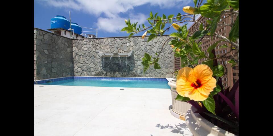 Terraço com piscina exclusiva pra você