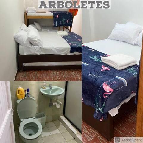 Apartamento cómodo en ARBOLETES Muy bien ubicado