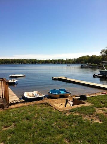 Lakeview House - Round Lake Rentals - Benton Harbor - Casa