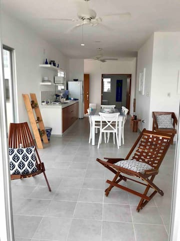 Part of living area. Direct Ocean View