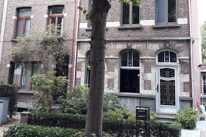 Charming TOWNHOUSE with garden near ANTWERP