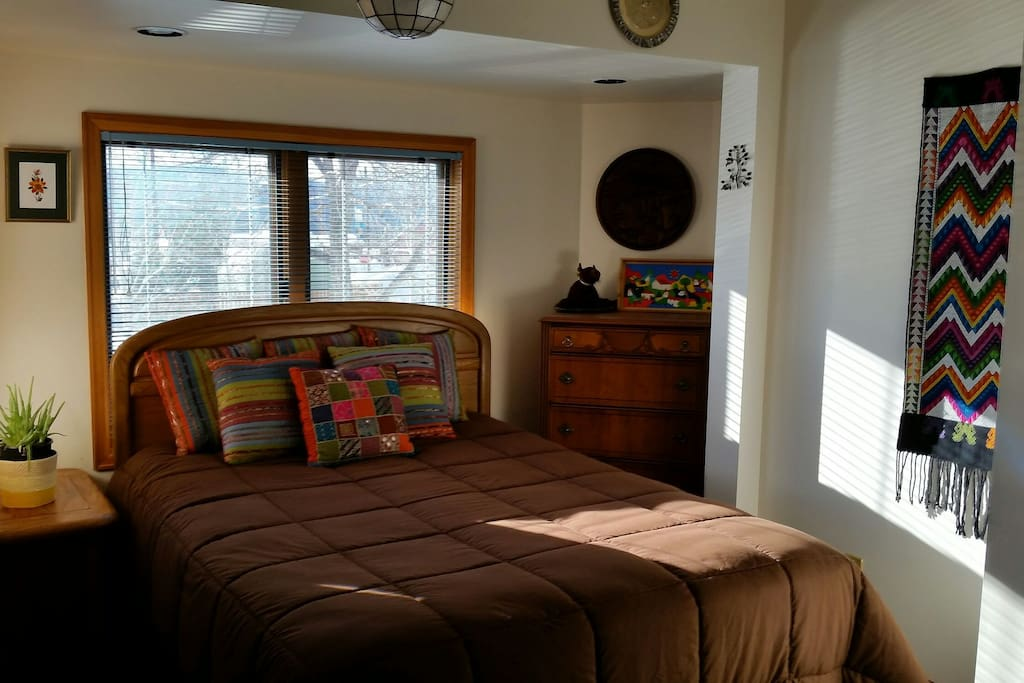 Another view of bedroom.