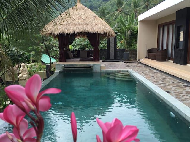 Beautiful Private Pool villa including breakfast - Pemenang - Villa