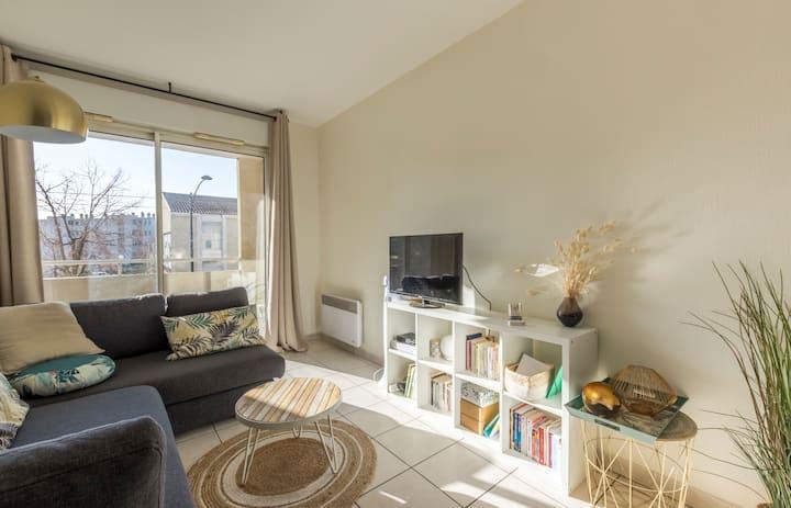 Appartement chaleureux - Montpellier centre