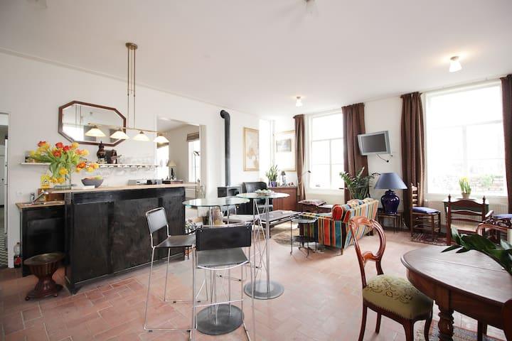 Quiet old farmhouse in the city - 's-Hertogenbosch - Bed & Breakfast