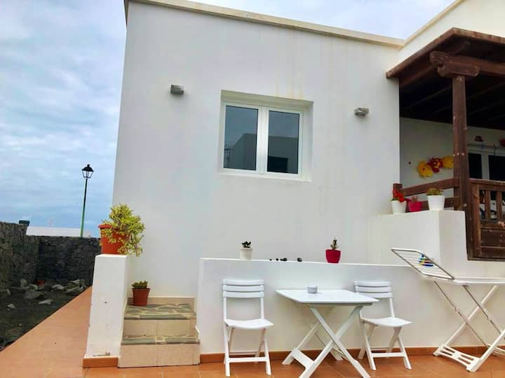 Studio in La Santa, Lanzarote, with terrace and WiFi
