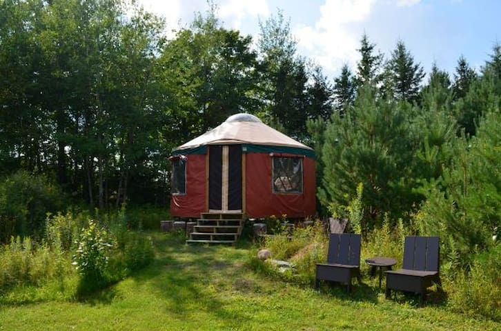 """PINES YURT"" (near Duluth, MN)"