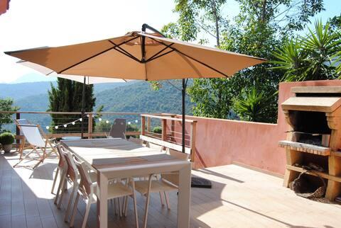 Villa au coeur du maquis Corse 120m²
