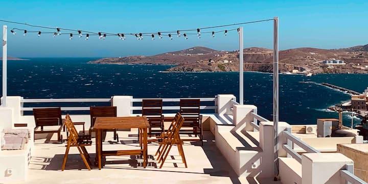 Vaporia Terrace Seaview 1