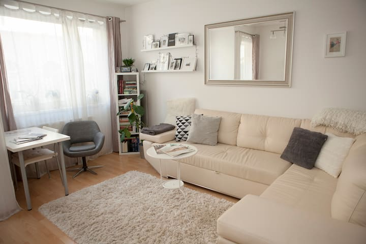 Cute & modern flat with BALCONY & NETFLIX