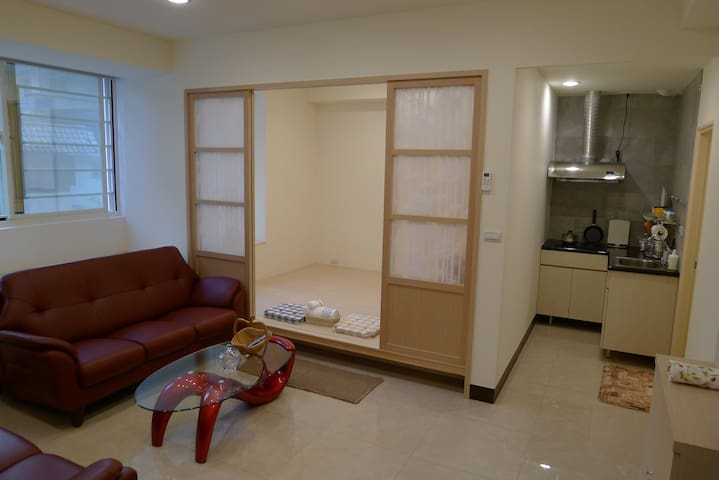 One Bed And One Futon Room (5) - 台灣省 - Apartemen