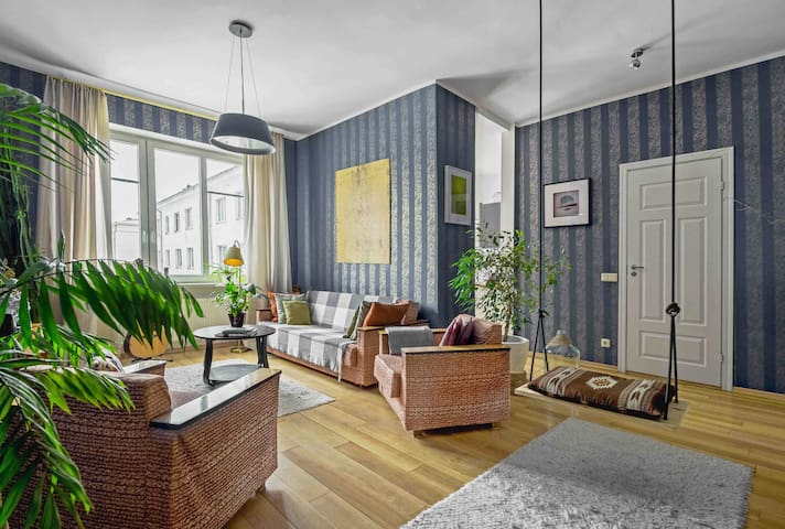 Homely,spacious apartment in the heart of Tallinn!