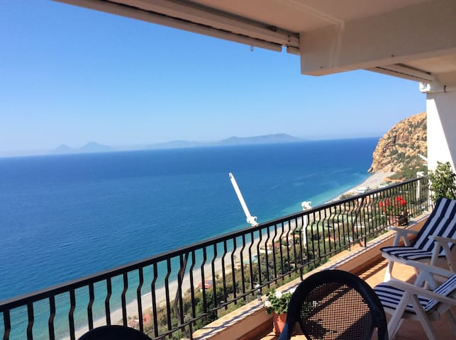 Casa sul mare con vista mozzafiato - Calavà - Alojamiento vacacional