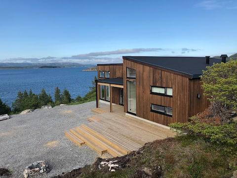 Nieuwe hut, mooi aan zee