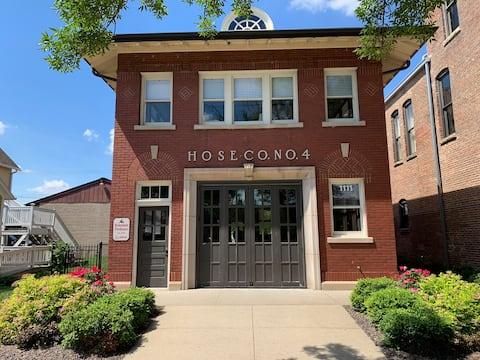 Bohemian Firehouse-an authentic 1916 Firehouse