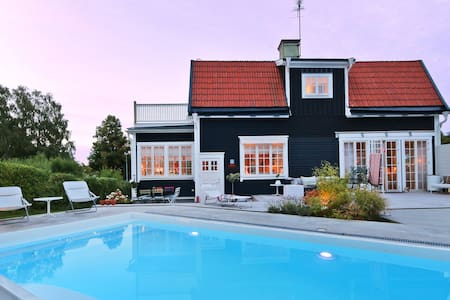 Luxury villa with private pool in Västervik