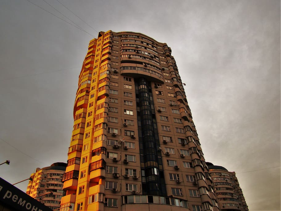 The 25-storey building