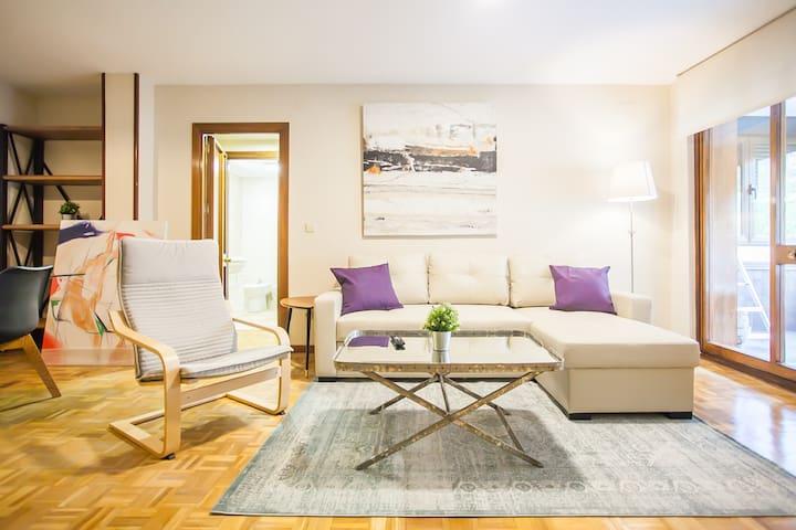 Moncloa New Apartment 3 BD /2 Bth 7 pax