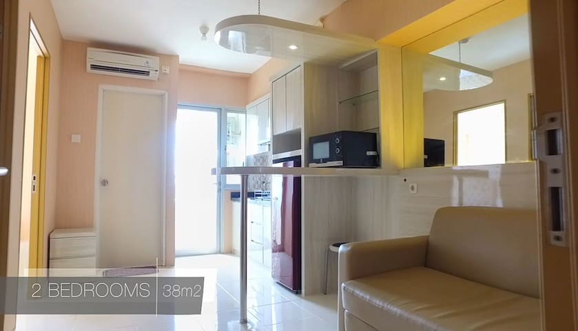 Educity Apartmen spacious 2BR (all new furnished)