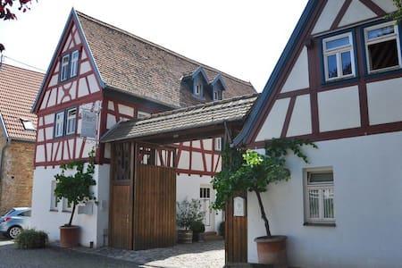 **Fachwerkhäusschen in ruihger, zentraler Lage* - Hochheim am Main - Hus