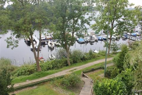 Ferienwohnung Eider-Blick Stapel (Nordsee/Ostsee)