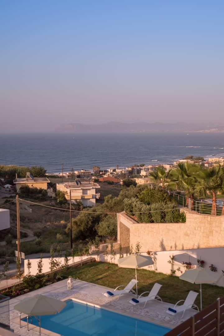 Dream Sea View Family Villas 10m walk from beach