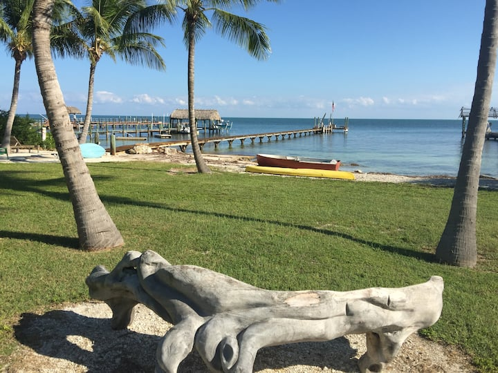 Atlantic Ocean, Beach, 150 foot Dock, Boat Ramp,