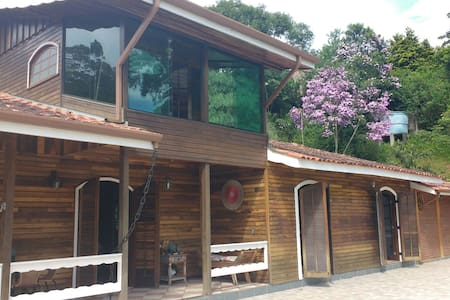 The lake house - Embu das Artes - Stuga