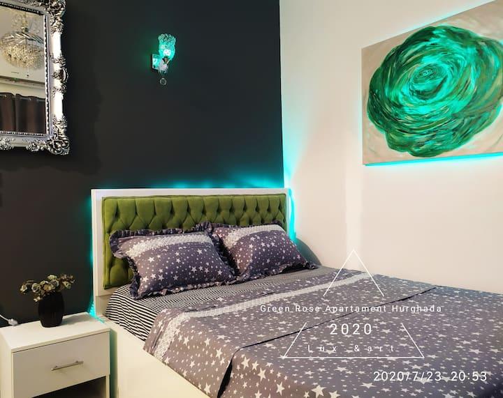 Green Rose Apartament cozy💚 studio