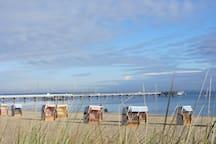 Herbst herrlich zum Spaziergang am Strand