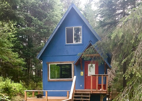 Cabin in the woods! King & 2 Full beds Large deck